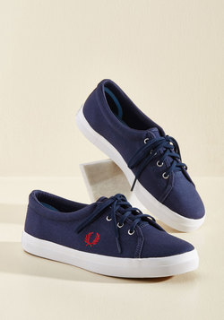 Country Mile Style Sneaker in Navy
