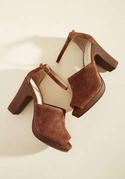 Native Suede Heel
