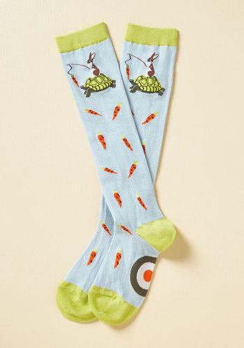 Fourteen Carrot Goals Socks