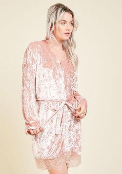 Velour Allure Robe