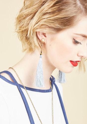 Tassel It On Earrings