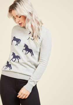 Gallop in Your Business Sweater