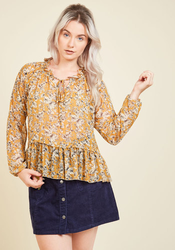 Catch a Second Whim Floral Top