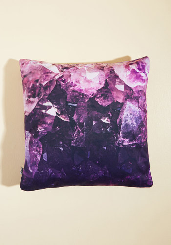 Amethyst Will Do Nicely Pillow
