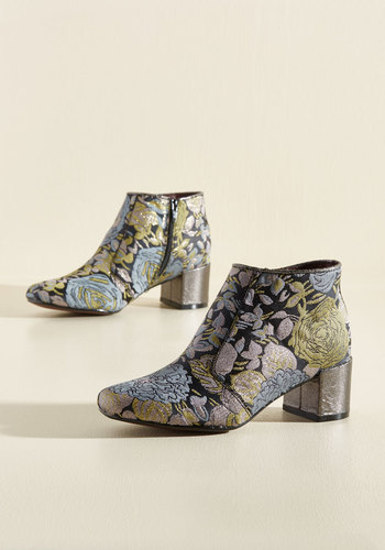 You Grew My Mind Bootie in Floral
