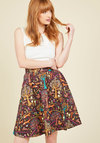 This Woodland is Your Land A-Line Skirt