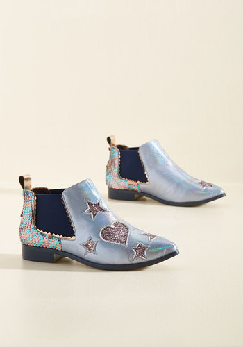 Influential on the Reg Leather Bootie