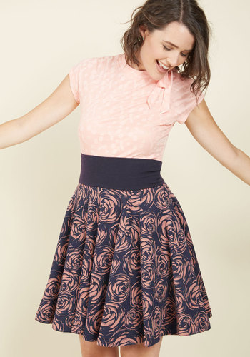 Girly Twirl A-Line Skirt