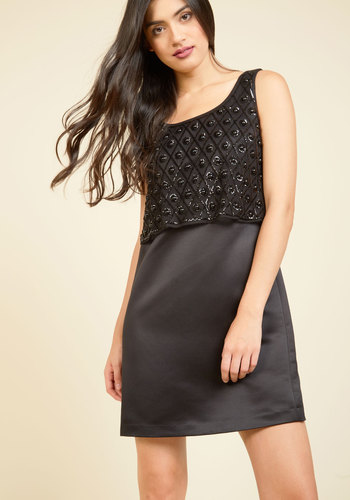 Glance Up a Storm Sequin Dress