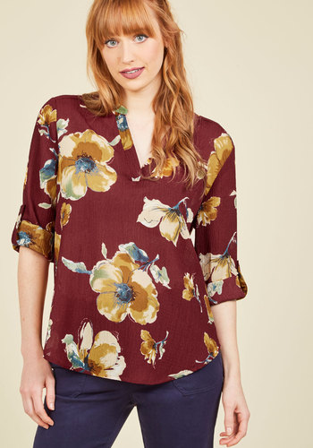 Midday Mode Floral Top
