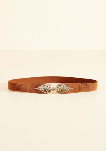 Leaf Its Mark Belt - Brown, Tan, Gold, Work, Casual, Nature, Fall, Store 1