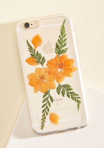 Efflorescent Messages iPhone 6/6s Case in Orange
