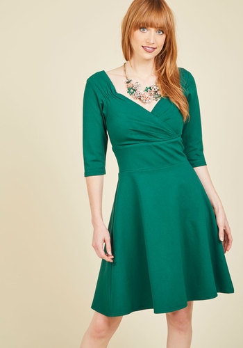 A Ballad Opinion A-Line Dress