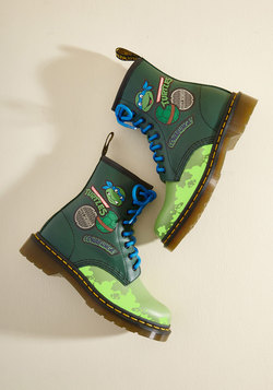 More Turtle Power to You Leather Boot