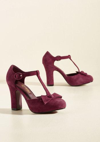 Shop Pin Up Shoes Something Good Can Walk Heel $128.99 AT vintagedancer.com