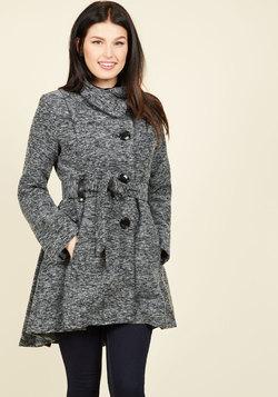 Winterberry Tart Coat in Earl Grey