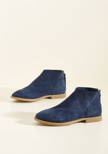 Elemental Everyday Booties in Blueberry