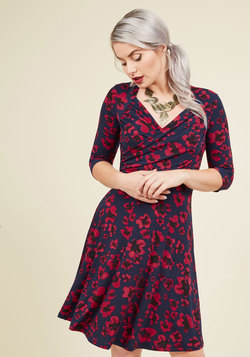 A Poppy of Color Dress