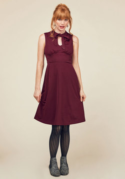 Archival Arrival A-Line Dress