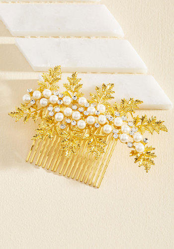 1950s Costume Jewelry Hoot and Holly Hair Comb $14.99 AT vintagedancer.com