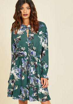 City of Delights Floral Dress
