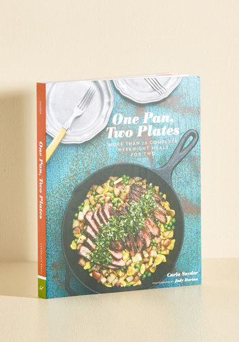 One Pan, Two Plates by Chronicle Books - Hostess, Wedding, Graduation, Valentine's, Handmade & DIY, Food