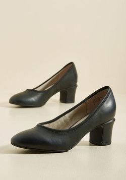 Canopy Leather Heel