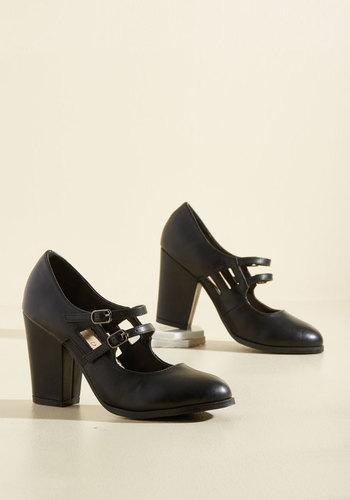 1920sStyleShoes Uplift the Curtain Heel in Black $64.99 AT vintagedancer.com