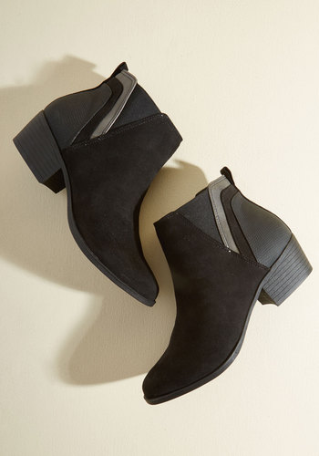 Portland By Morning Booties in Onyx