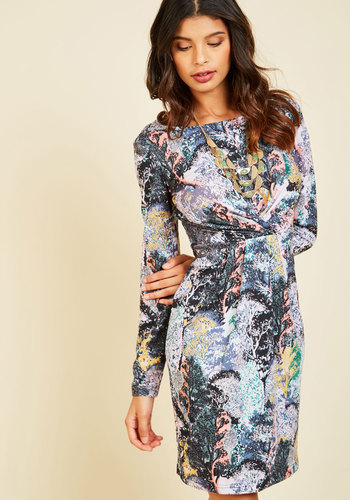 Fresh Air to Spare Long Sleeve Dress