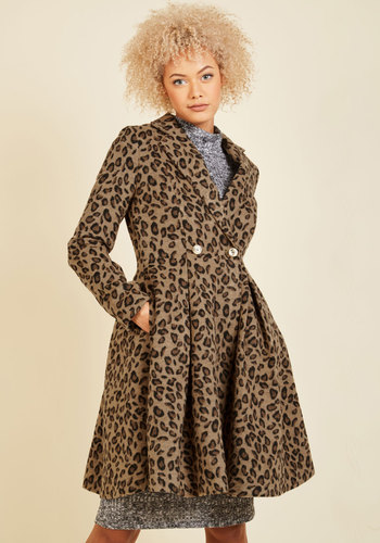 1950s Style Coats and Jackets Posh That Thought Coat $139.99 AT vintagedancer.com