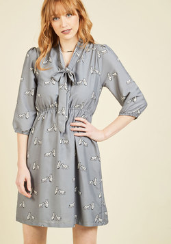 Arctic Spark Shirt Dress