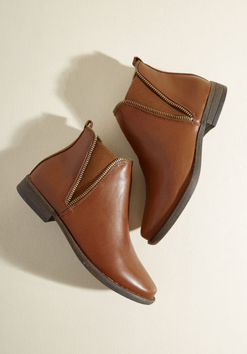 Gettin' Zippy With It Booties