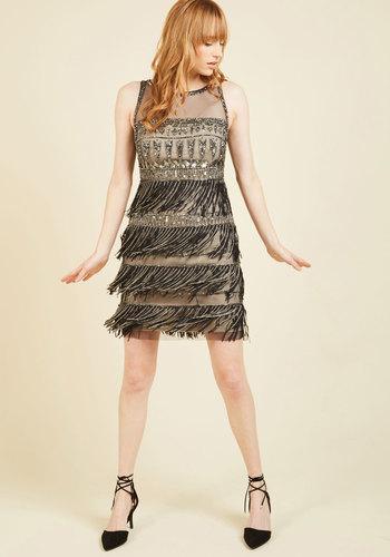 GreatGatsbyDressesforSale Moments for Movement Shift Dress $269.99 AT vintagedancer.com