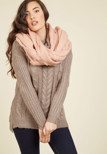 Moxie at the Movies Scarf in Rosé