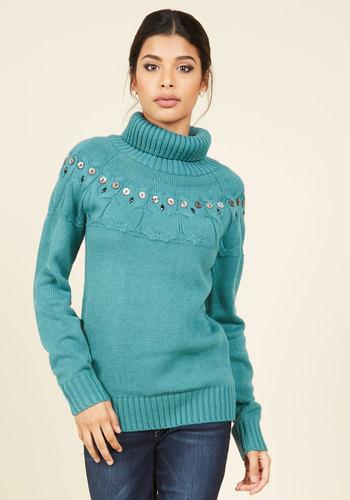 Hoo's Next? Turtleneck Sweater