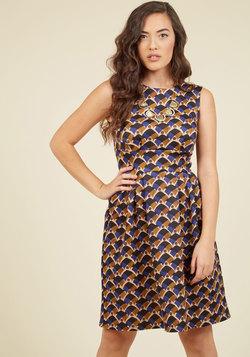 Campaign Pitch Confidence A-Line Dress