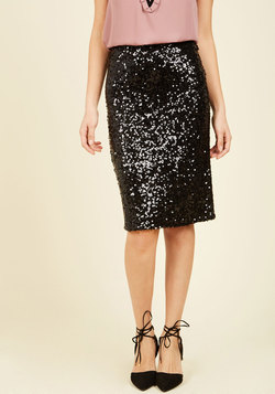 A Grand Glam Pencil Skirt