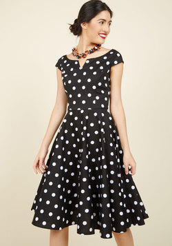 The East Coast Swing of Things Cotton Dress