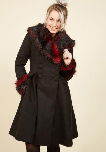 1950s Rockabilly Dresses Make the Gradient Coat $229.99 AT vintagedancer.com