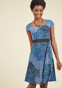 Stun as You Are A-Line Dress