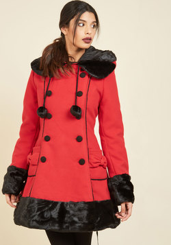 For the Winnipeg Coat in Red