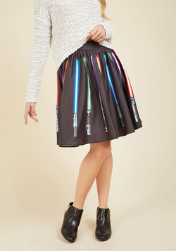 Make a Knight of It A-Line Skirt