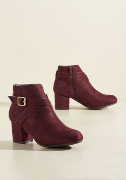 The Rome Stretch Bootie