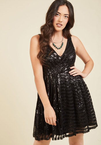 Truth or Daring Sequin Dress