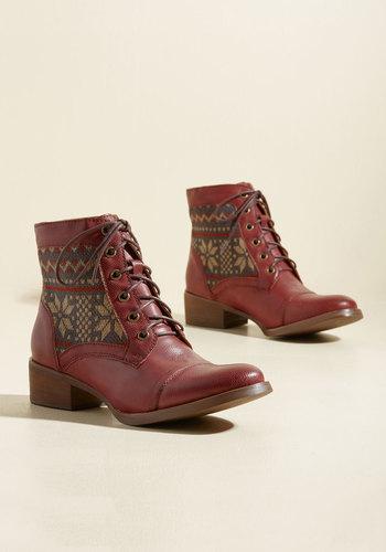 Make It Worth Fair Isle Vegan Boots