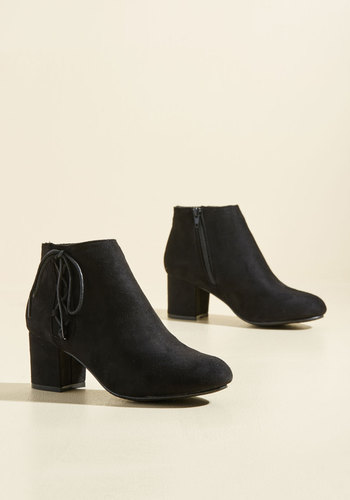 Pick of the Patch Booties