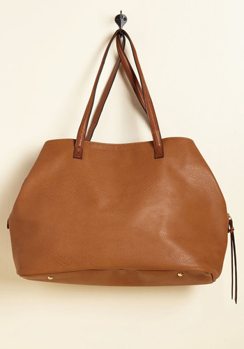 Minutes Turn to Sections Bag in Toffee - Brown, Work, Casual, Scholastic/Collegiate, Fall, Better