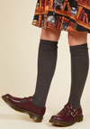 Hop, Skip, and a Punk Leather Flat in Oxblood