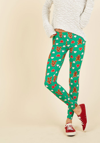 Swell on a Holiday Leggings in Gingerbread